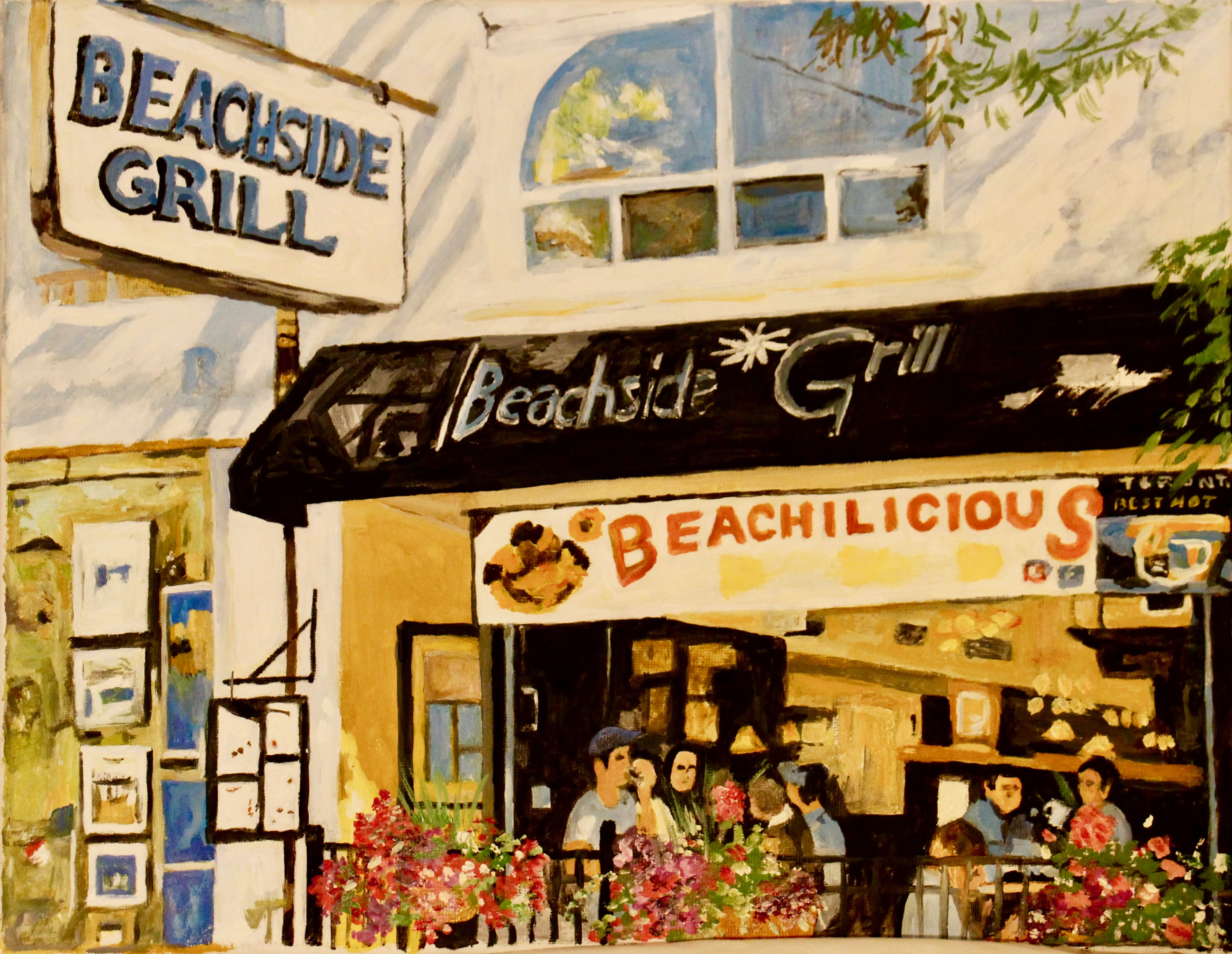 Beachside Grill 11x15